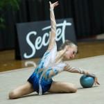Aria Rodli at US Rythmic Gynastic Championships