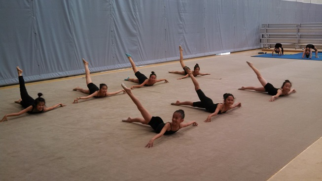 Stretching group ground