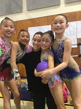 rhythmic gymnastics Paloma