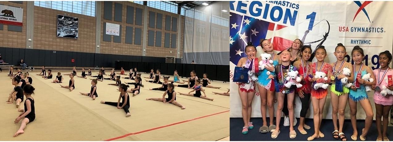rhythmic gymnastics San Diego, San Diego's Truly Elite Rhythmic Gymnastics Training Center
